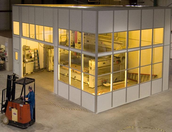 EDM Machine Enclosure